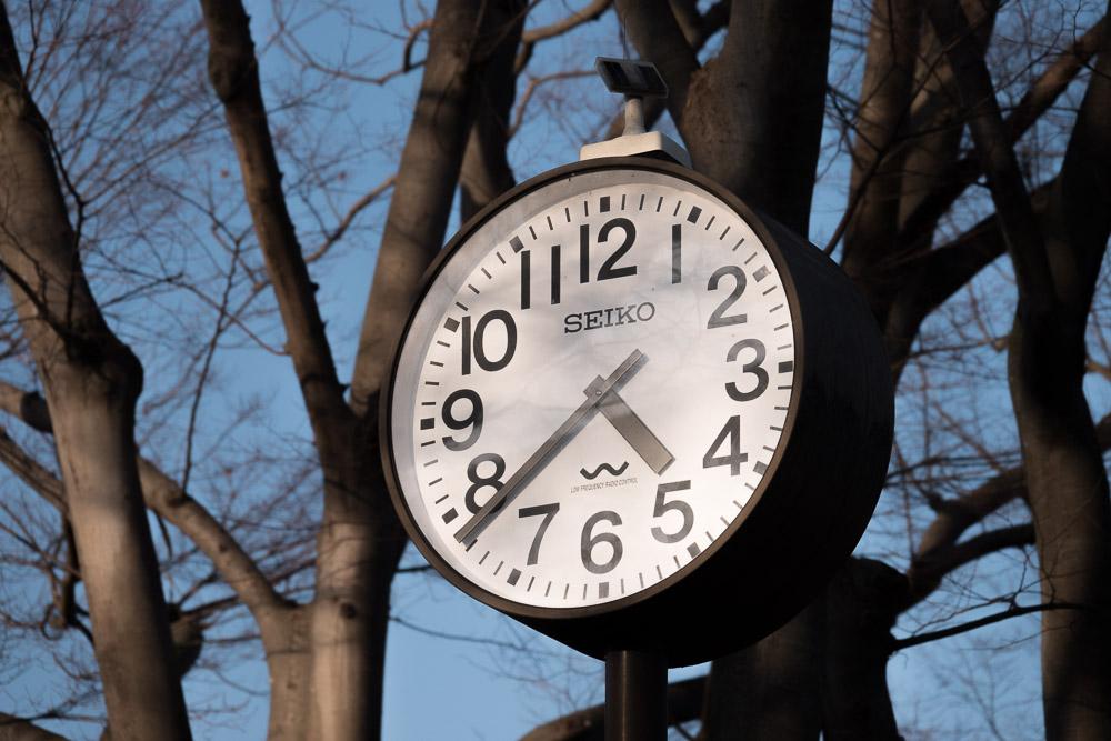 rx10m4 館林市つつじが岡公園 時計