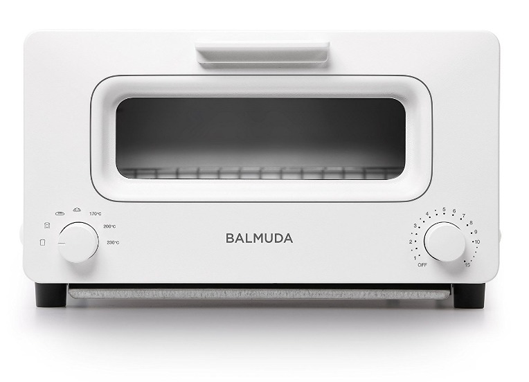 ペコジャニ∞!で紹介された【高性能トースター バルミューダ ザ トースター】はこちら