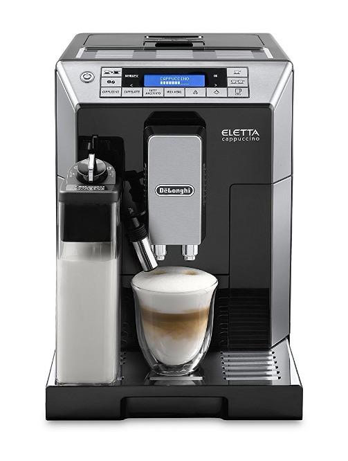 ペコジャニ∞!で紹介された【全自動コーヒーマシン デロンギ エレッタカプチーノトップ】はこちら