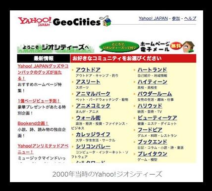 【悲報】Yahoo!ジオシティーズ終了!その真相とは?