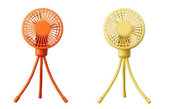 【バゲット】PIERIA お出かけファン(ミニ扇風機)