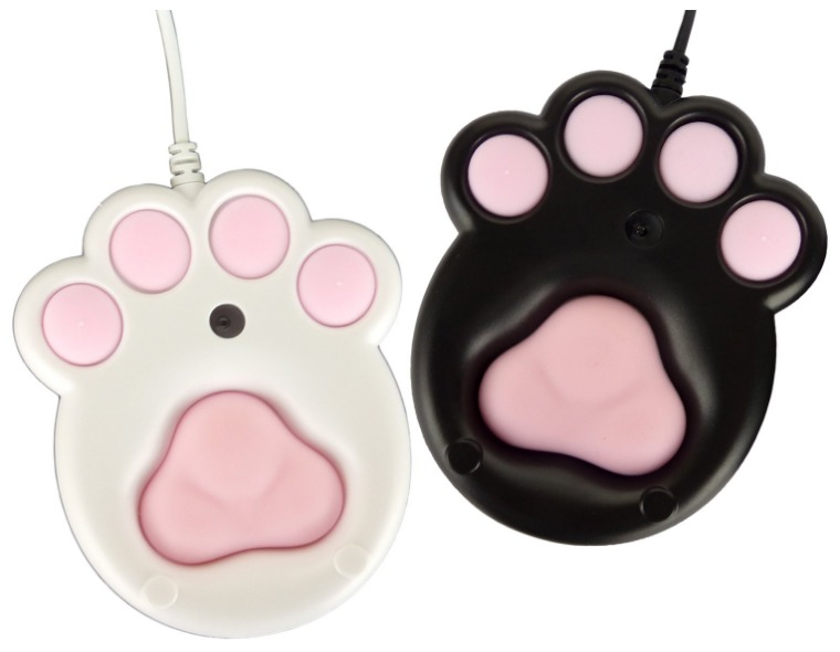 【NHKまちかど情報室】猫の足の形をしたパソコン用マウス
