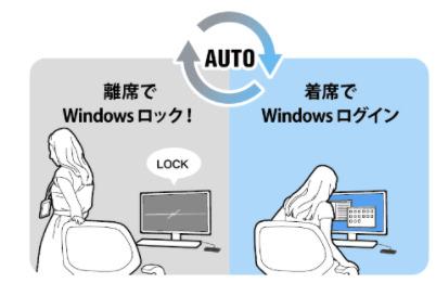 まちかど情報室|PCの自動ロック・ログイン セキュリティシステム
