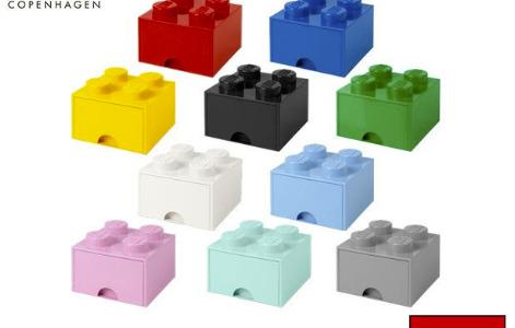 まちかど情報室|レゴブロックの形の収納箱